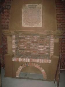 historischer Kamin